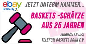 Baskets-Schätze für den Guten Zweck ersteigern!
