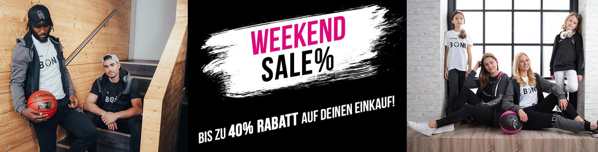 Weekend Sale im Baskets Fanshop
