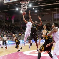 Ryan Thompson / Telekom Baskets Bonn vs. Walter Tigers T