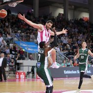 Nemanja Djurisic / Telekom Baskets Bonn vs. Nanterre 92 , Basketball Champions League BCLFoto: J
