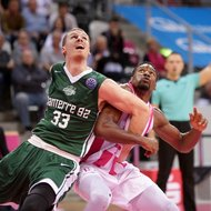 Yorman Polas Bartolo / Telekom Baskets Bonn vs. Nanterre 92 , Basketball Champions League BCLFoto: J