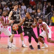 Josh Mayo, Ron Curry / Telekom Baskets Bonn vs. Besiktas Istanbul , Basketball Champions LeagueFoto: J