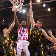 Yorman Polas Bartolo / Telekom Baskets Bonn vs. Aris Saloniki , Basketball Champions LeagueFoto: J