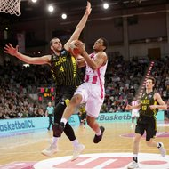 Malcom Hill / Telekom Baskets Bonn vs. Aris Saloniki , Basketball Champions LeagueFoto: J