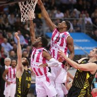 Ron Curry, Yorman Polas Bartolo / Telekom Baskets Bonn vs. Aris Saloniki , Basketball Champions LeagueFoto: J