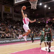 Anthony DiLeo / Telekom Baskets Bonn vs. Nanterre 92 , Basketball Champions League BCLFoto: J