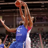 James Webb III / Telekom Baskets Bonn vs. Fribourg Olympic Basket , Basketball Champions LeagueFoto: J