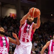 James Webb III, Martin Breunig, Bojan Subotic / Telekom Baskets Bonn vs. Hapoel Holon , Basketball Champions LeagueFoto: J