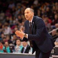 Trainer Chris O'Shea / Telekom Baskets Bonn vs. Hapoel Holon , Basketball Champions LeagueFoto: J