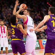 Bojan Subotic / Telekom Baskets Bonn vs. Hapoel Holon , Basketball Champions LeagueFoto: J