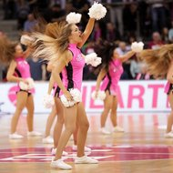 Baskets Danceteam - Cheerleader der Telekom Baskets Bonn vs. Eisb