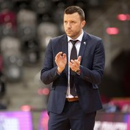 Co-Trainer Savo Milovic / Telekom Baskets Bonn vs. Alba Fehervar , FIBA Europe CupFoto: J