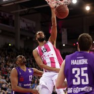 James Webb III / Telekom Baskets Bonn vs. BG G