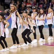 Baskets Mini Danceteam - Cheerleader der Telekom Baskets Bonn vs. BG G