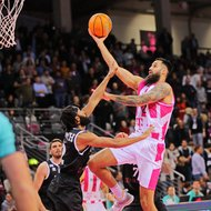 Martin Breunig / Telekom Baskets Bonn vs. PAOK Thessaloniki , Basketball Champions League Foto: J