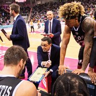 Telekom Baskets Bonn vs. PAOK Thessaloniki , Basketball Champions LeagueFoto: J