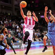 Anthony DiLeo / Telekom Baskets Bonn vs. Happy Casa Brindisi , Basketball Champions LeagueFoto: J